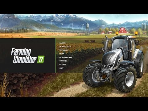 Lets play Farming Simulator 2017, First day Live
