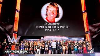 "#RIPRoddy | 2015: Roddy Piper Official WWE Tribute Theme Song - ""Hold On Tight"" + Download Link ᴴᴰ"