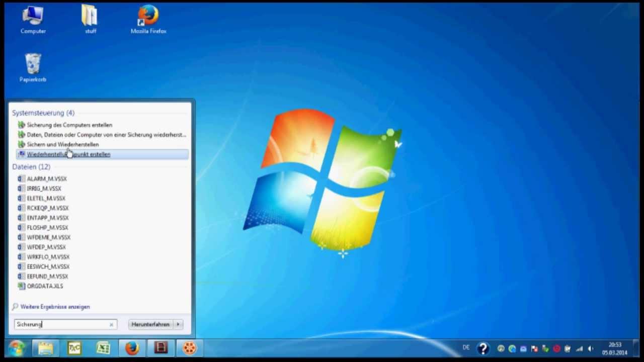 Windows 7 Sicherung