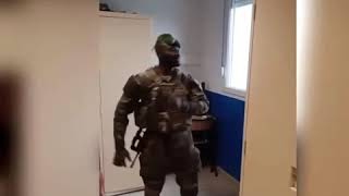 Military men dances to Archipalago hit song #Megye