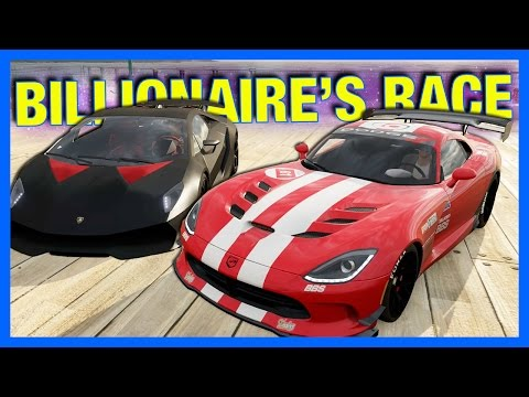 Forza Horizon 3 Online : Billionaire's Race Car Challenge!!