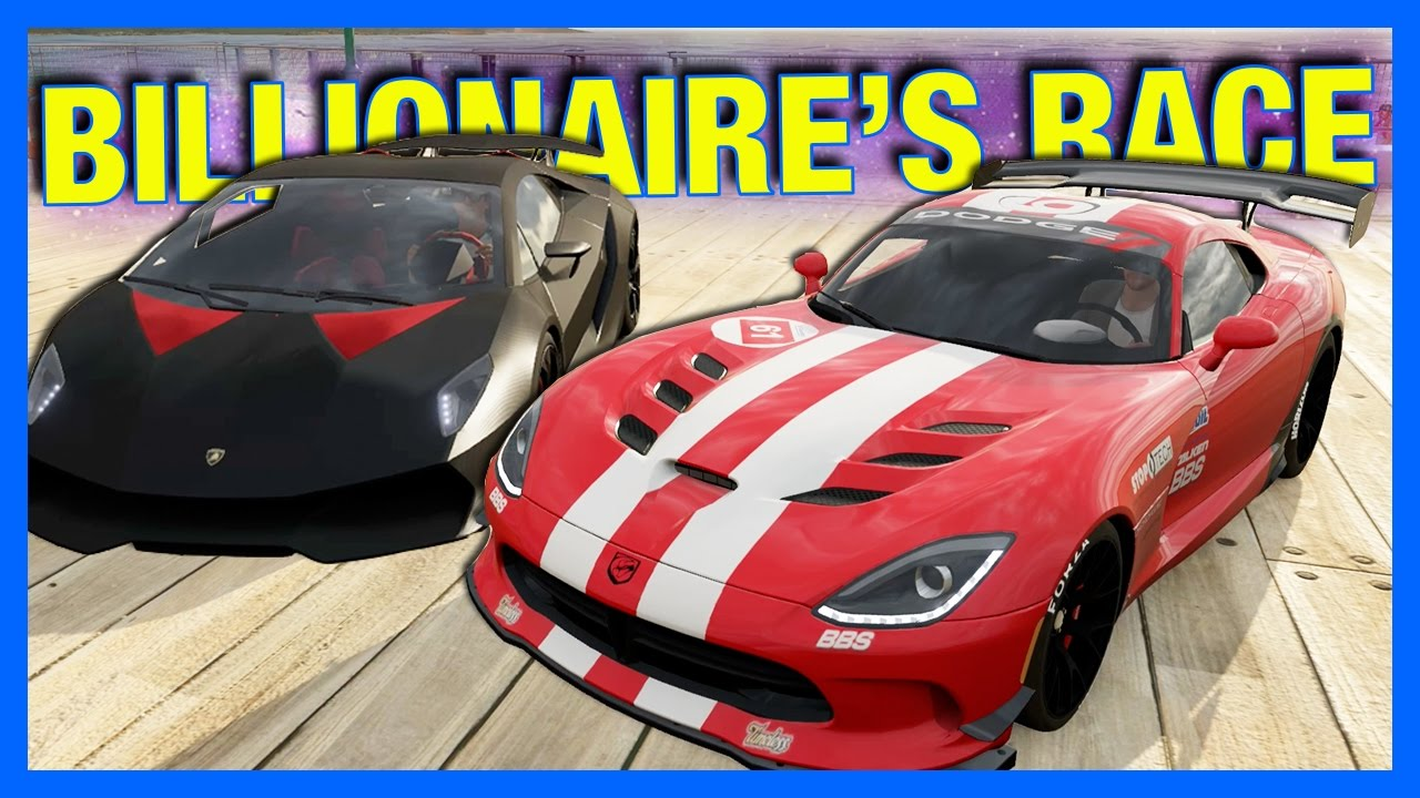Forza Horizon Online Billionaire S Race Car Challenge Youtube