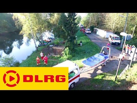 "DLRG Übung ""Sturzflut"""