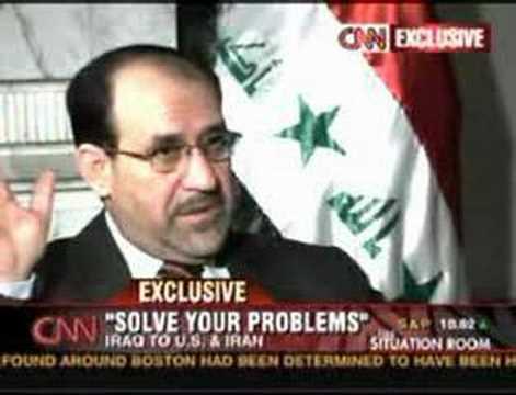 CNN Interview with Maliki