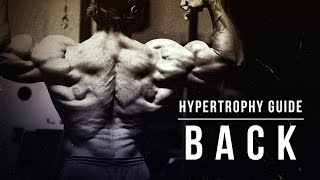 Hypertrophy Guide | Back | JTSstrength.com thumbnail