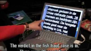 TV program hack - subtitled