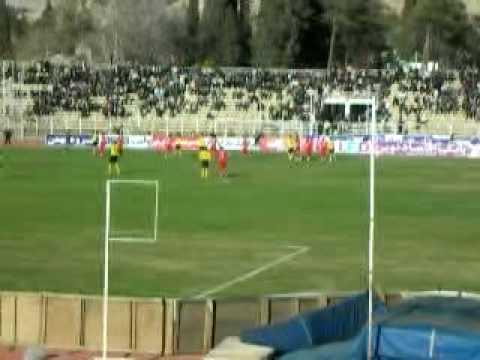Hafezieh Stadium Shiraz- Moghavemat v Esteel Azin - Missed Penalty/Atmosphere