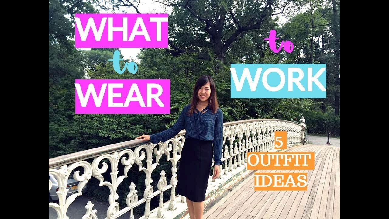 [VIDEO] - WHAT I WORE TO WORK IN SF | 5 STYLISH OUTFIT IDEAS (LOOKBOOK) | TIFFIHEARTS 4
