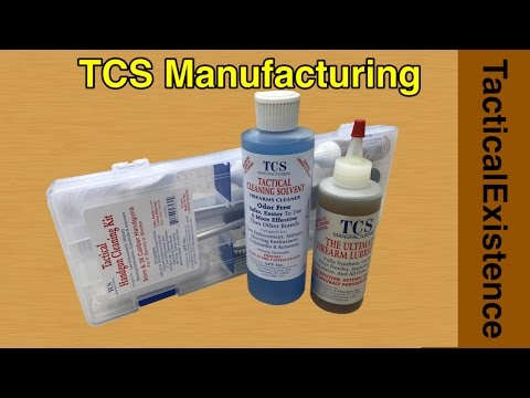 TCS Manufacturing Best Gun Cleaning and Maintenance Products