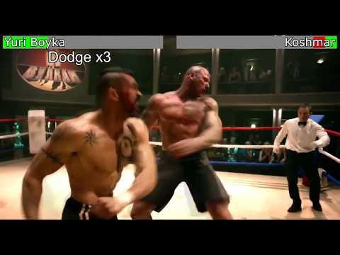 "Undisputed 4 - Yuri Boyka vs. Koshmar ""The Nightmare"" [WITH HEALTH BARS] thumbnail"