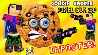 Cookie Clickers Pt. 2 + Pixel Gun Imposter (dad Plays Pg3d Pt. 14) Ios Gameplay