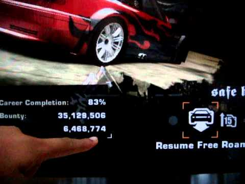 Need for speed most wanted ps2 hacked save (police, traffic and.