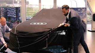 Audi e-Tron lancering bij Audi Centrum Rotterdam