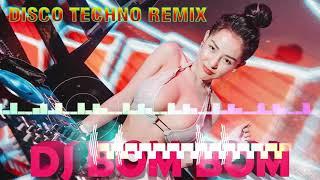 DISCO NONSTOP TECHNO REMIX -  DJ BOMBOM   MUSIC REMIX💥 DJ BOMBOM@DJ MUSIC