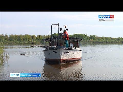 """В Котельниче """"галоша"""" открыла навигацию (ГТРК Вятка)"""