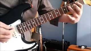 JEAN GENIE, David Bowie, Mick Ronson - Guitar Breakdown