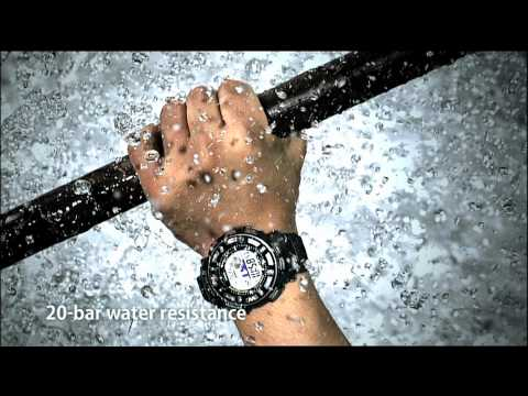 Feel the field CASIO PRO TREK sport and outdoor freetime watches