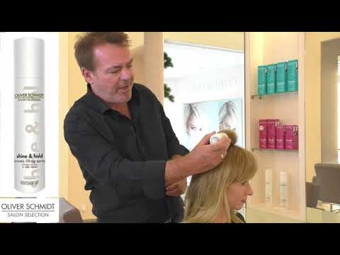 shine & hold - ansatz lifting spray - Oliver Schmidt Salon Selection