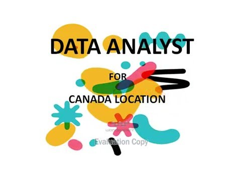 Data Analyst-Canada Location