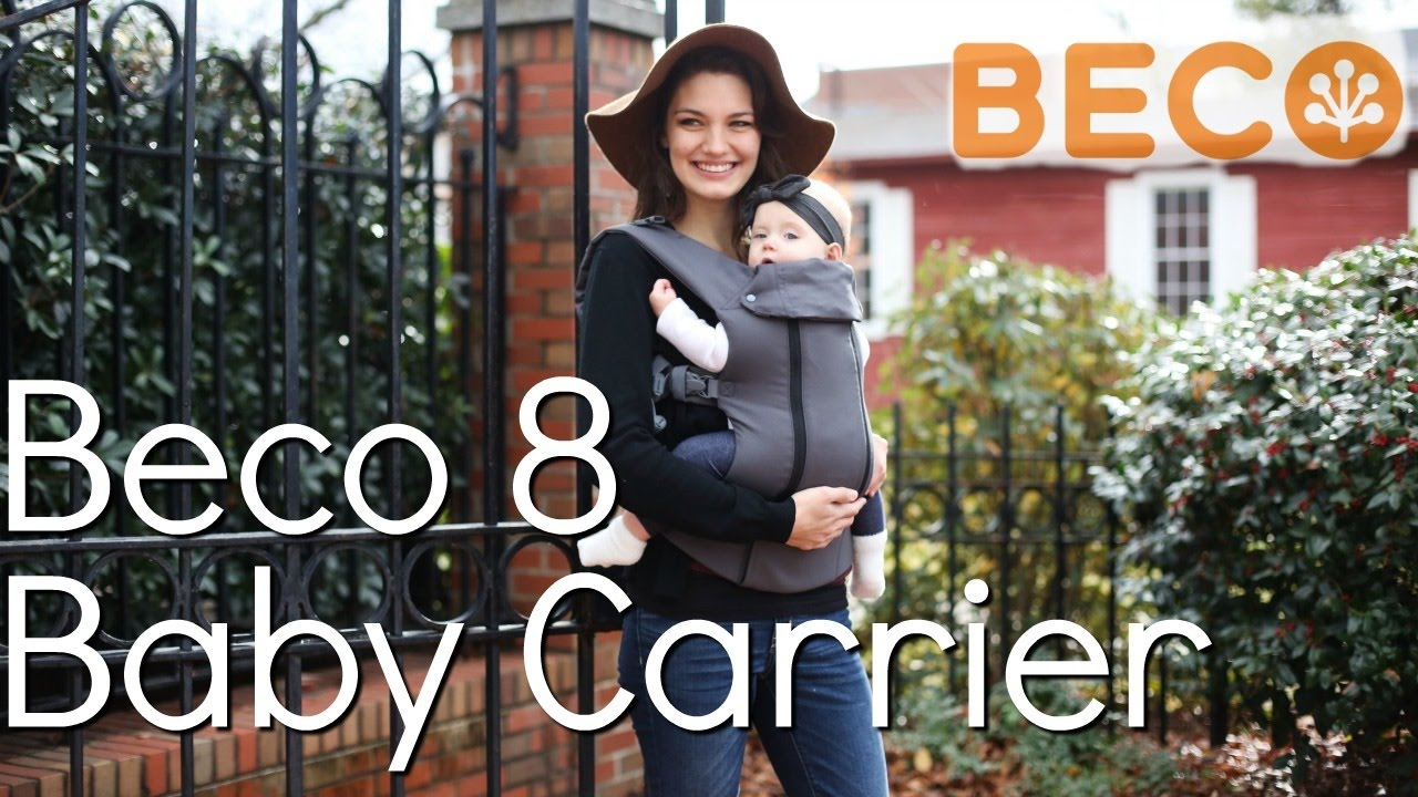 86d81a9db95 Beco 8 Baby Carrier Demo
