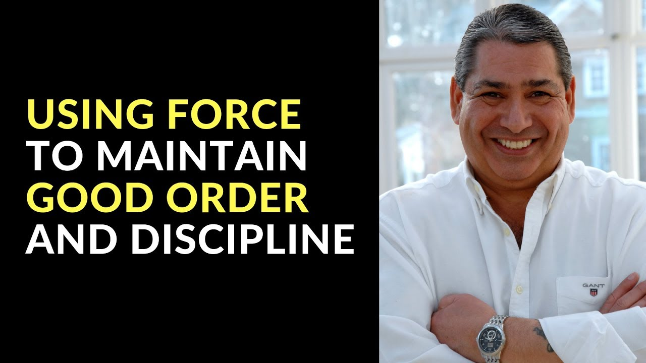 good order and discipline