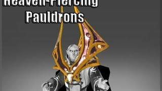 Dota 2 - Genuine Heaven-Piercing Pauldrons for invoker