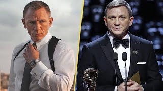 L'assurda trasformazione di Daniel Craig: ecco il volto irriconoscibile di James Bond ai Bafta