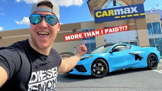 TRYING TO SELL MY NEW C8 CORVETTE TO CARMAX!!! *THEY MADE ME AN OFFER!*