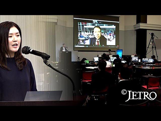 タングラボ&TRPが、ジェトロの番組の中で、紹介されました。