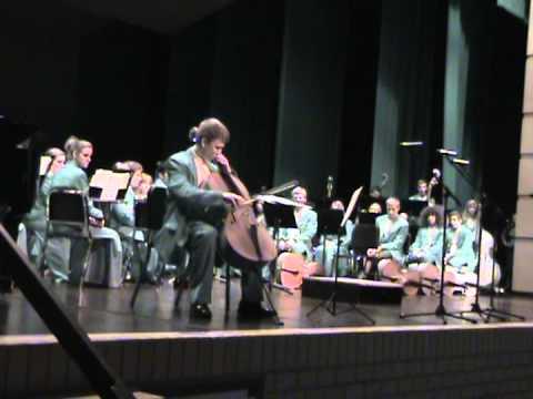 Grand Haven High School Cello Solo - Elgar Cello Concerto in E minor Op. 85, Adagio