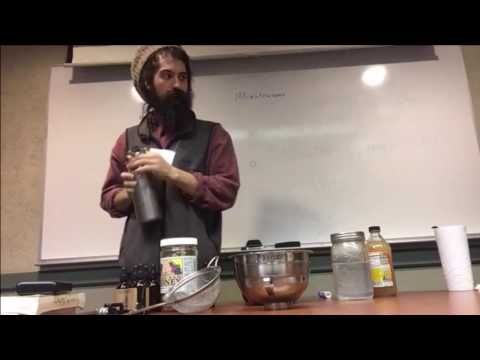 "Foragers Broadcast - ""Tincturing 101"" Live Class @ NOFA NJ"