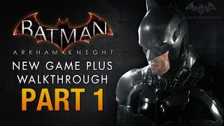 Batman: Arkham Knight Walkthrough - Part 1 - Intro