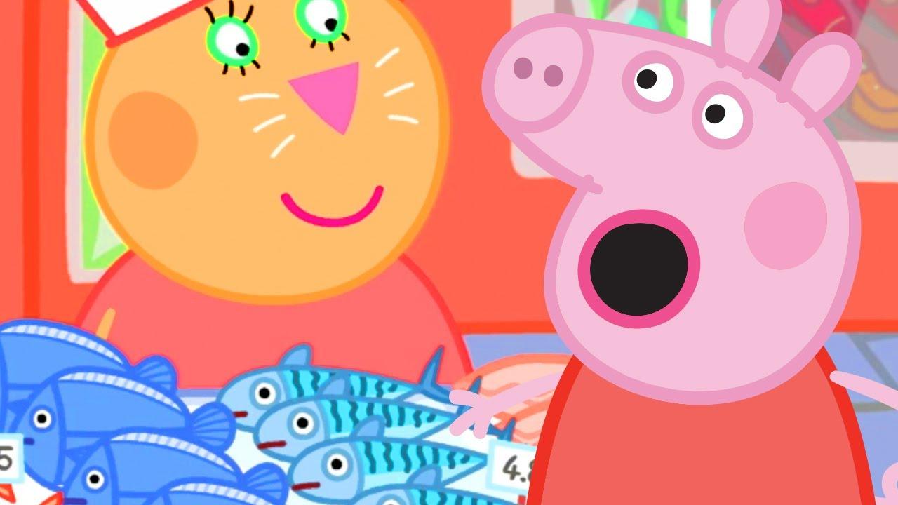 Download Peppa Pig Français | Peppa Pig fait son marché! | Dessin Animé Pour Bébé