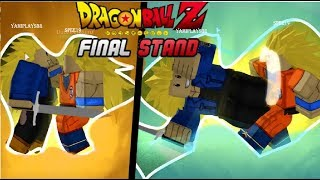 Roblox (Dragon Ball Stand End) SSJ3 DUO DOESN'T WORK KKJ