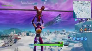 Fortnite Battle Royale dancing zipline glitch