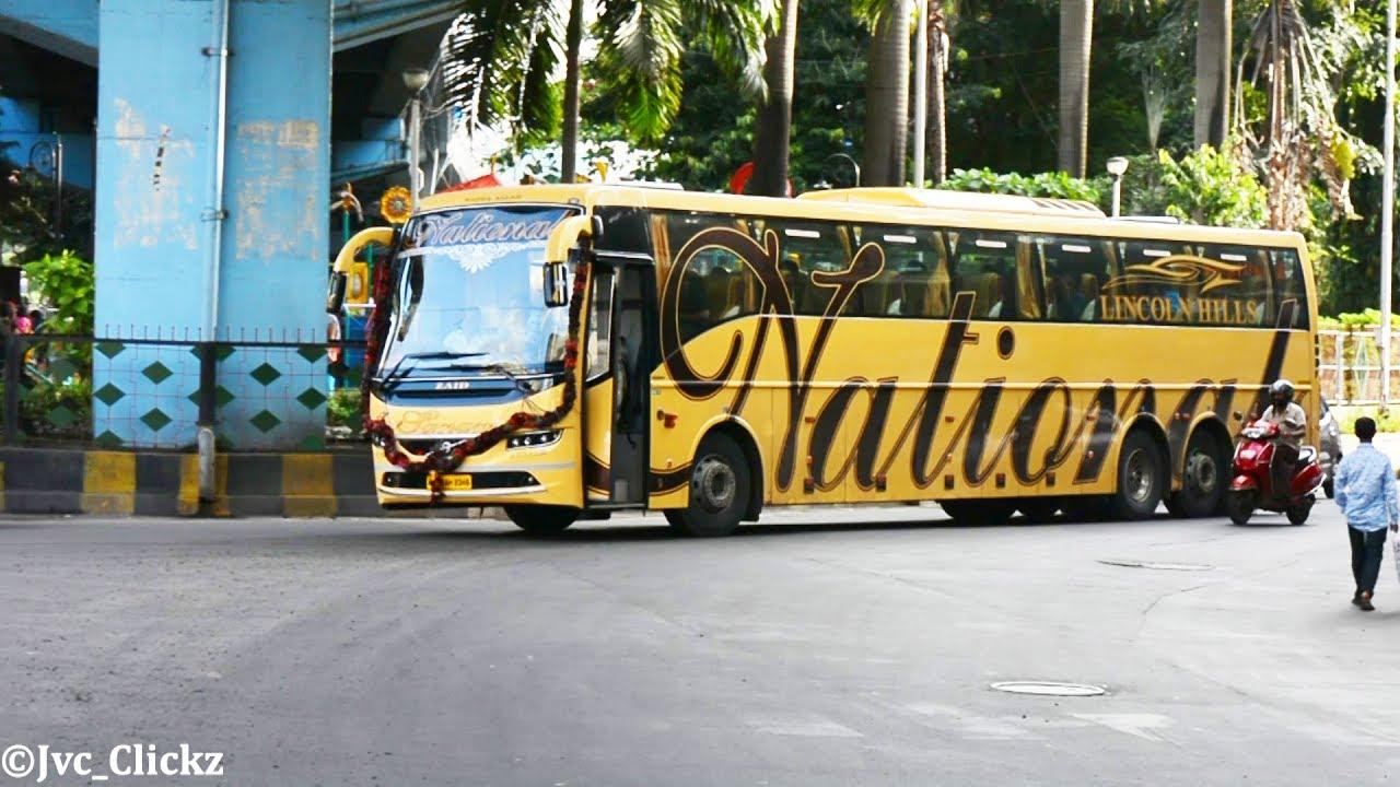 All New Volvo B11r Sanam Of National Travels In Mumbai