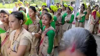 Sonowal Kachari halali cultural program 2018 hubhajatra