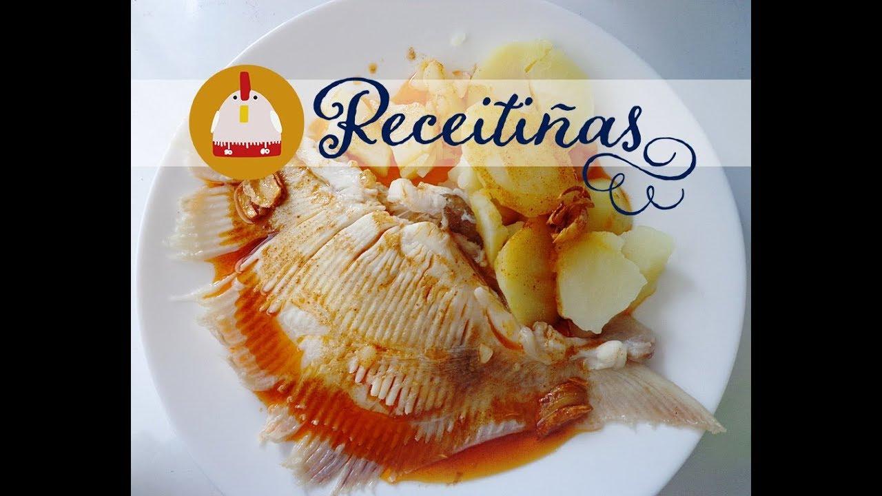 Cocinar Raya A La Gallega | Receitinas Receta Expres De Raya A La Gallega Youtube