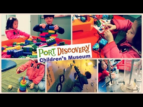 PORT DISCOVERY CHILDREN'S MUSEUM Baltimore, MD on DOLLAR DAY