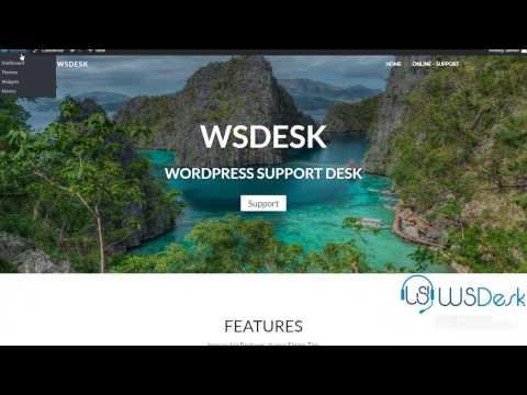 WSDesk – WordPress HelpDesk & Support Ticket Plugin – Basic Settings