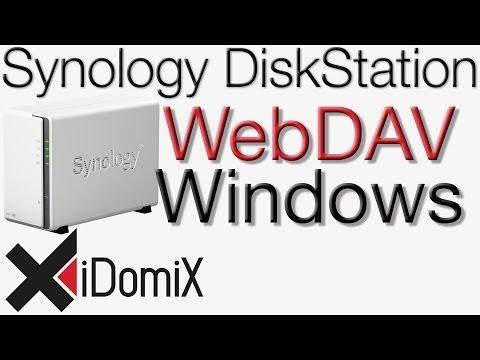 Synology DiskStation Mit Windows über das Internet per WebDAV zugreifen