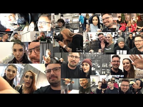 First time use of DJI Osmo Mobile Gimbal at Frankfurt Tattoo Convention 2017