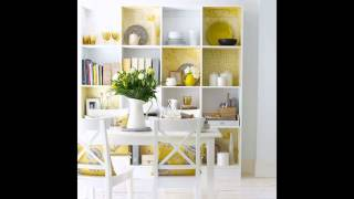 Easy Bookshelf decorating ideas