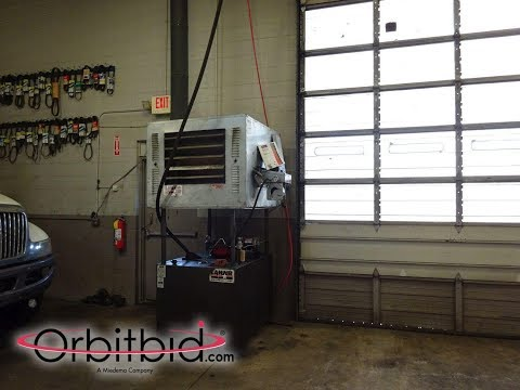 Lanair, model MX300, Waste Oil Furnace | For Sale | Online Auction at Orbitbid.com