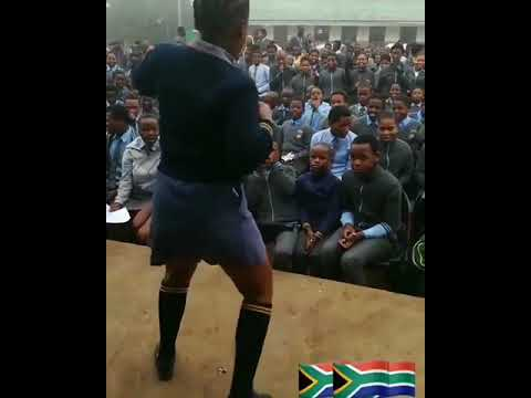 South Africa student dancing