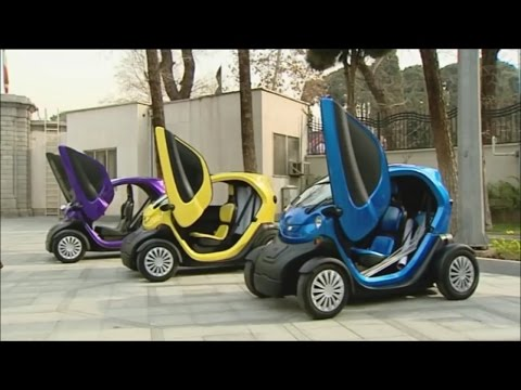 Iran made two Seat Electric Vehicles dubbed Youz & Avita خودرو دوسرنشين الكتريكي يوز و آويتا ايران