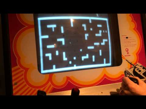 1974 Atari Tank Arcade Game -