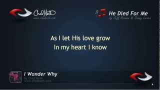 he died for me chad neth lyric video