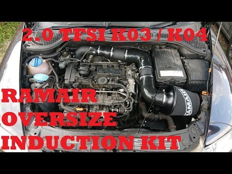 2.0 TFSI RamAir Oversized Induction Kit Install, SOUND & Review VW / Audi / Seat / Skoda Octavia vRS