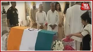 Pranab Mukherjee, Nitish Kumar, Sushma Swaraj, Naveen Patnaik Pay Last Respects To Vajpayee Ji
